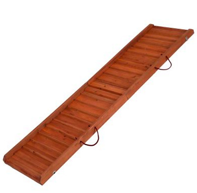 Dog Ramp Pet Van Car Foldable Bifold Gear Transport Travel Stairs Ramps Vehicles