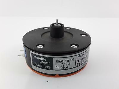 Camille Bauer KINAX 5W1-1 776-21 Nr 104 Rotary Position Transducer