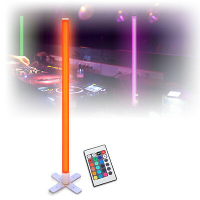 Mood Lighting Colour Changing LED Tube Light Standing DJ Disco Party Remote 1M