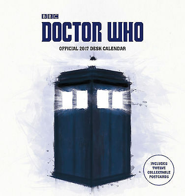 Doctor Who 2017 Official Desk Easel Calendar - Dr Who