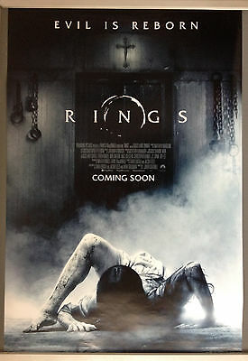 Cinema Poster: RINGS 2017 (Advance One Sheet) Vincent D'Onofrio Laura Wiggins