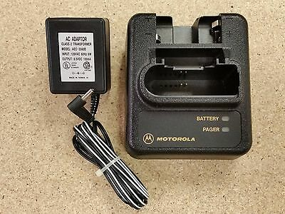 Motorola Pager Minitor III IV 3 4 Charger NYN8346B NYN8354B With Power Supply