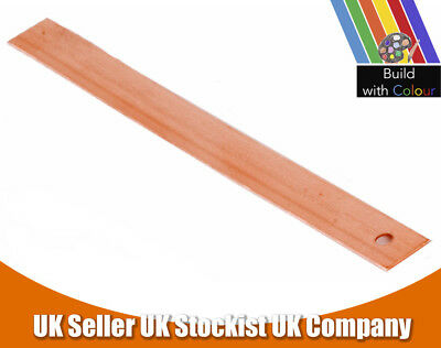 Packs of 0.7 x 150mm Copper Tingles Roofing Slate Straps Roof Repair Stone Strip