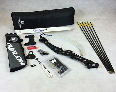 "Black 68"" Core Archery Take Down Recurve Bow & Complete Package"