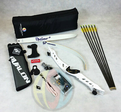 "White 70"" Core Archery Pro Take Down Recurve Bow & Complete Package"
