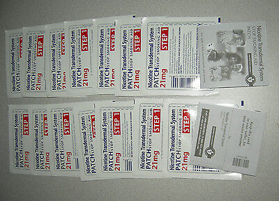 14 PATCHES NOT 7!! - Habitrol Nicotine Transdermal System Patch,21 mg, Step 1