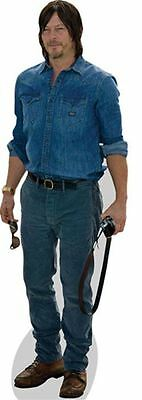 Norman Reedus Cardboard Cutout (lifesize OR mini size). Standee. Stand Up.