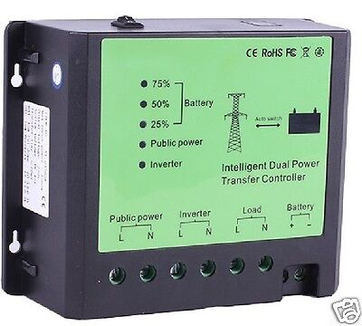 System controller for off-grid wind solar system, power grid 12VDC 230Vac 4500W