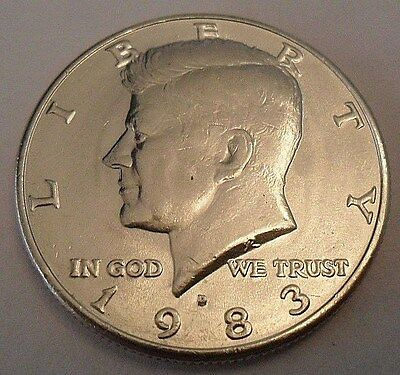 1983 D Kennedy Half Dollar  Sds  **free Shipping** Check Out Our P&d Sets!