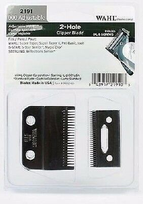 Wahl Corded Magic Clip Replacement Clipper Blade  *actual Magic Blade*