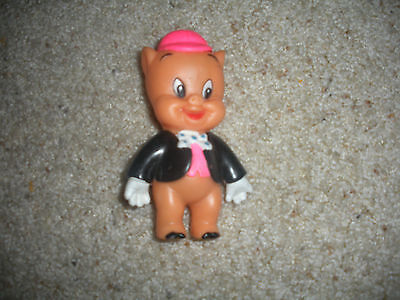 Vintage Warner Bros Porky Pig Rubber Squeeze Toy From 1960 Euc