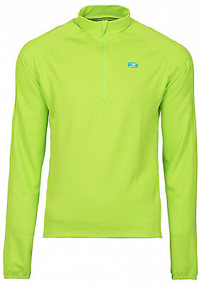 New Sugoi Neo Long Sleeve Jersey Men Lotus Fall Winter Cycling Cannondale Green