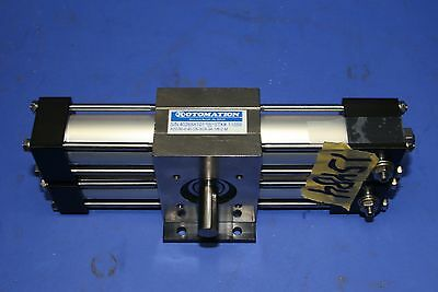 (1) Used Rotomation A22-0-90-D5-3C4-3A-1/8-2-M Indexing Pneumatic Actuator 15484