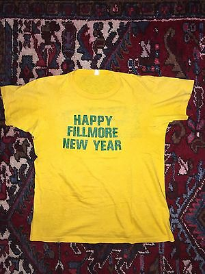 1969 1970 Fillmore East New Years t SHIRT 1960s stones zeppelin 1970s bg poster