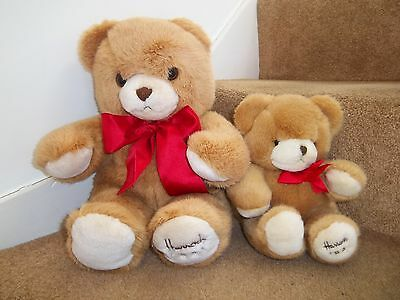 "NEW 18"" 11"" HARRODS FOOT DATED 1991 26th BIRTHDAY GIFT TEDDY BEAR SOFT TOYS"