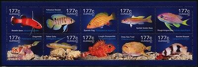 CURACAO 2014 Fische Fishes Poissons Pesci Meerestiere ** MNH
