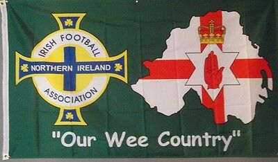 Northern Ireland Football Flag Our Wee Country