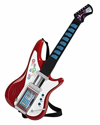 Simba Kinder My Music World Light Guitar mit MP3 Funktion Musikinstrumente Gitar