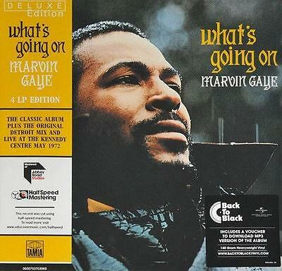 MARVIN GAYE What's Going On Deluxe Edition NEW & SEALED 4X LP VINYL SOUL MOTOWN