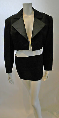 LOOK ~~~ Vintage YVES SAINT LAURENT Rive Gauche Made in FRANCE size 42