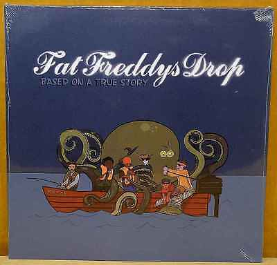 FAT FREDDYS DROP Based On a True Story 2LP Still Sealed FOC The Drop DRP007