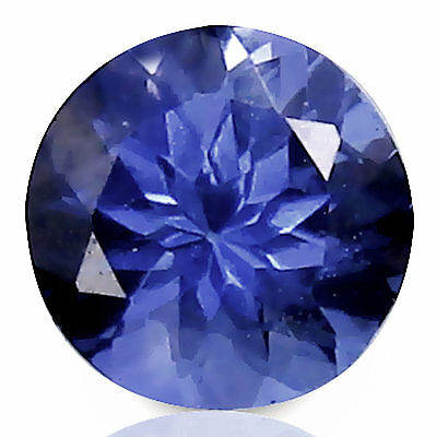 0.59 Carat Beautiful Natural  Purplish Blue Tanzanite