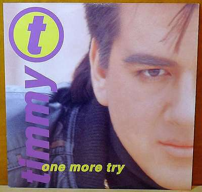 """TIMMY T One More Try 12"""" Pump Records 70001 Europe 1991"""