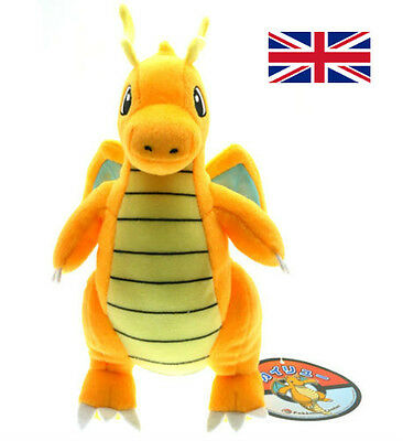 "9"" Pokemon Plush Doll Toy Dragonite Collectible Charizard Stuffed Animal Xmas"