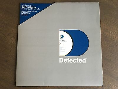 "A.T.F.C. & ONEPHATDEEVA In And Out Of My Life 12"" 1999 EX vinyl Defected DEFECT8"