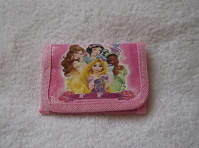 NEW DISNEY PRINCESS PINK KIDS COIN Purse WALLET Unwanted Party Bag Gift A