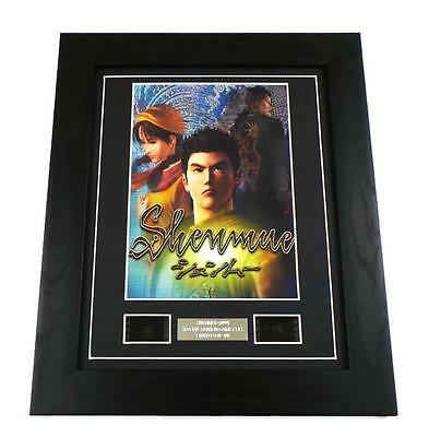 SHENMUE Video Game Memorabilia Retro Limited Edition Film Cell Framed Gifts