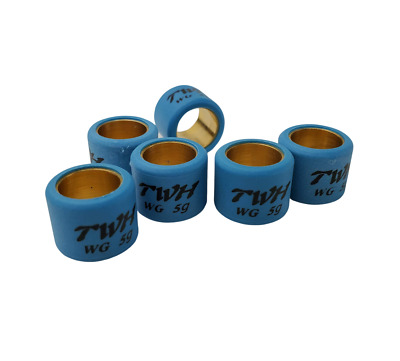 Roller Weights 16X13  - 12 Gram; for 50cc Chinese Scooters