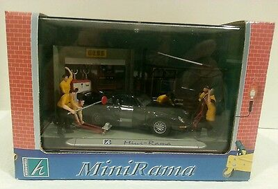 Gess GASOLINE STATION MECHANIC MINI-RAMA / HONGWELL New in Box