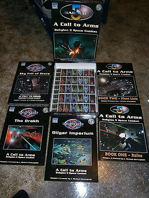 Babylon 5: A Call to Arms boxed set with Drakh, Dilgar & Sky Full of Stars books