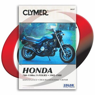 1984-1987 Honda VF700C MAGNA Repair Manual Clymer M327 Service Shop Garage