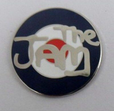 The Jam enamel badge. Paul Weller,Mod,Oasis,Lambretta