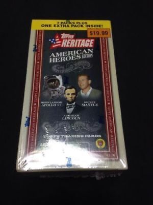 TOPPS - Trading Heritage Cards Box - American Heroes 2009 Apollo 64 cards (G28)