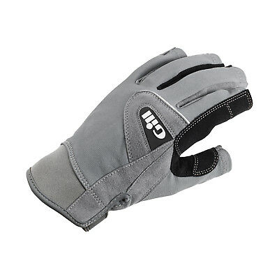 Gill Deckhand Short Finger Sailing Gloves 2017 - Grey
