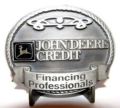 John Deere JDC Credit Financing Belt Buckle 1999 Australia Limited Ed 108 of 500