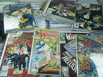 New Warriors Comics Lot Run Set Collection Marvel Mint signed Bayley Robertson