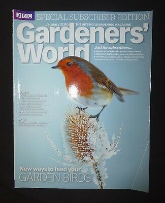 Gardeners World Jan 2016  BBC, Subscriber's Edition, New ways to feed the birds