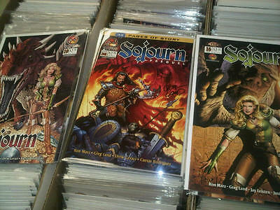 Collection Sojourn CrossGen Comics NM Mint High grade signed Greg Land Ron Marz