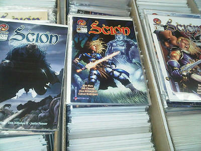 Scion 1 to 29 Complete Comic Lot Run Set Crossgen Collection NM Mint signed