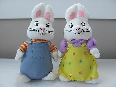 """Max and Ruby 7"""" Plush TY Beanie Baby set"""