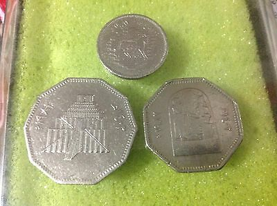"Iraq 1982 ""Commemorative Restoration of Babylon"" 3 coins."