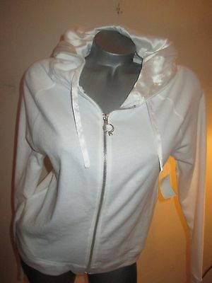 Victoria's Secret Bride Hoodie Jacket Diamond  Ring S White