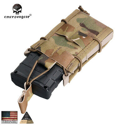 EMERSON Molle Single Unit Magazine Pouch MAG Carrier Bag Airsoft Duty 1000D 6345