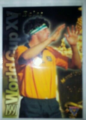 1995 Futera 1991 World Cup XV John Eales Rugby Union trading card WC5