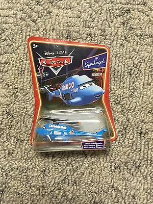 Disney Pixar Cars Dinoco Helicopter Supercharged Series Very Rare New Sealed