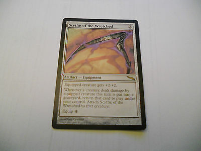 1x MTG Scythe of the Wretched-Falce del Corruttore Magic EDH MIR Mirrodin ING x1